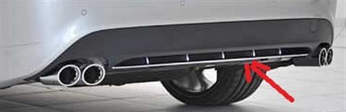 Passend für Mercedes C117 220 250 CLA Echt Carbon DTM Style Heckdiffusor Heck Diffusor