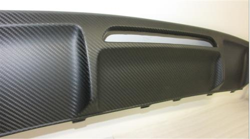Passend für Mercedes Benz W218 C218  CLS AMG 63 Echt Carbon Matt Heck Diffusor DTM