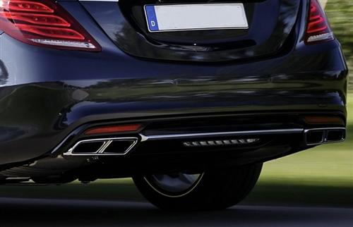 Passend für Mercedes Benz W222 AMG 63 Echt Carbon Heck Diffusor DTM Style S-Klasse
