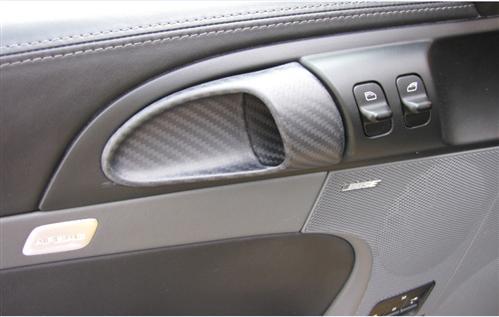 Für Porsche S 911 987 997 Cayman Boxster Carbon Matt tür griff