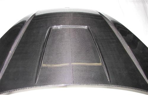Passend für Porsche 958 Cayenne Echt Carbon Haube Fronthaube Motorhaube GTR  GT3