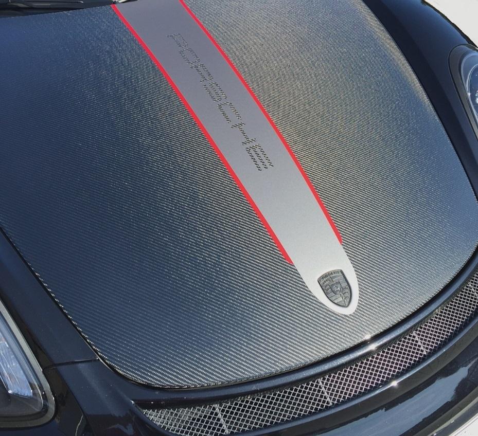 Passend für Porsche 981 991 911 718 Boxster Spyder Cayman GT4  Carbon Kofferraum Haube
