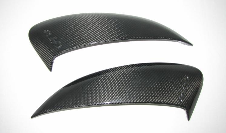 Passend für Porsche 981 GT4 Spyder Boxster Cayman Cabrio Echt Carbon RAM AIR