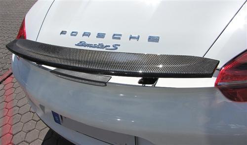 Passend für Porsche Boxster 981 Echt Carbon Heckspoiler Heckflügel Heck