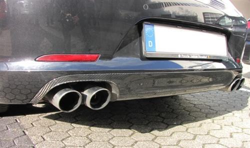 Für Porsche 991 911 Coupe Cabrio Echt Carbon Diffusor Heckdiffusor