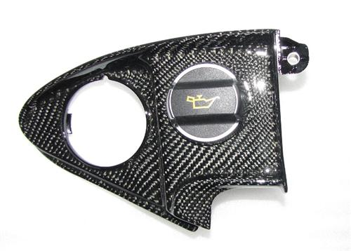 Für Porsche 991 911 Turbo Coupe Cabrio Echt Carbon Motor Abdeckung Engine links