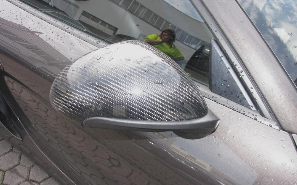 Passend für Porsche 991 911 981 Boxster Cayman Coupe Cabrio Carbon Spiegel V2