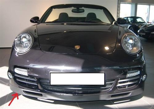 Passend für Porsche Carrera S 911 997 Stossstange Turbo Spoiler Lippe Carbon