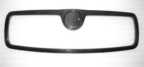 Passend für Skoda Oktavia RS ab 2007 Echt Carbon Grill front Haube