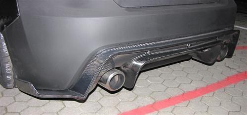 Passend für Toyota GT86 GT 86 GT3 Style Echt Carbon Heckdiffusor Heck Diffusor wide body