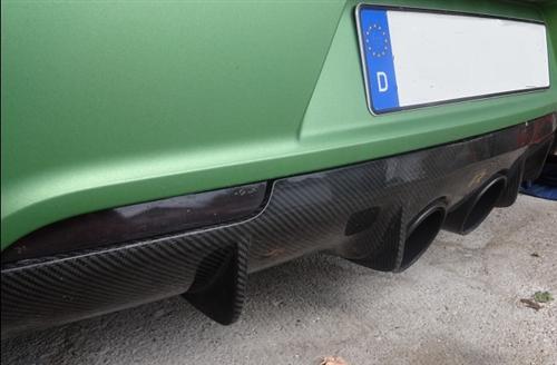Passend für VW Golf 6R 6 VI Carbon Heckdiffusor Diffusor Golf6 R DTM Style R20