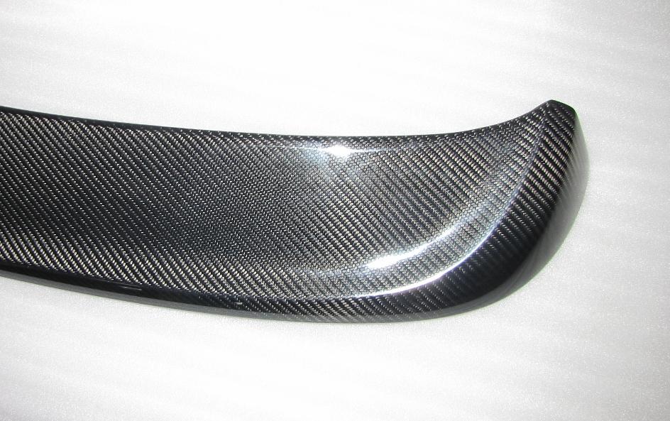 Passend für Golf7 VII Echt Carbon Heck Dach- Spoiler GTR VLN DTM Style Dachspoiler