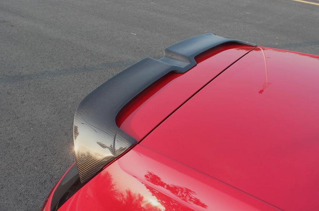 Passend für Golf 7 Golf7 GTI VII Echt MH-Carbon Heckflügel Spoiler GT3 Style