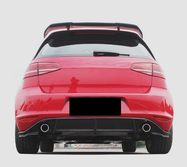 Passend für Golf 7 Golf7 GTI VII Echt MH-Carbon Heckdiffusor Diffusor GT3 Style